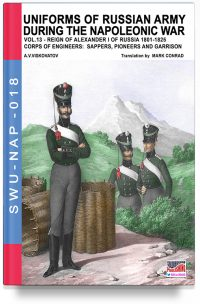 Uniforms of Russian army during the Napoleonic war – Vol. 13