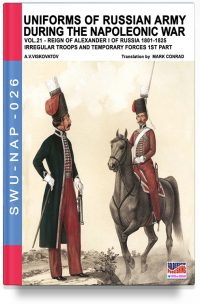 Uniforms of Russian army during the Napoleonic war – Vol. 21