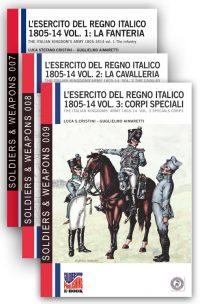 L'esercito del regno italico 1805-1814 (3 volumi)
