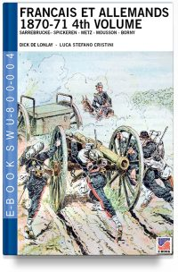Francais et Allemands 1870-71 4th Volume – Dick De Lonlay – French-Prussian war art colour drawings
