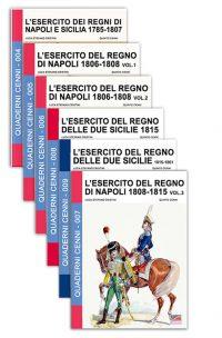 Quaderni Cenni – Raccolta Napoli (6 volumi)