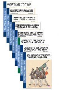 Quaderni Cenni – Raccolta stati preunitari (8 volumi)