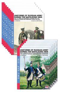 Viskovatov Series Napoleonic – 22 volumi