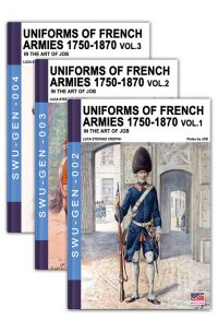 Uniforms of French armies 1750-1870 – 3 volumes