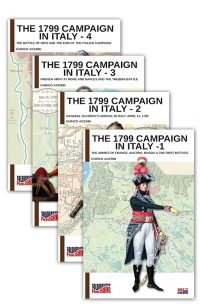 The 1799 campaign in Italy – 4 volumes