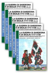 La guerra di Sardegna e di Sicilia 1717-1720 – 5 volumi
