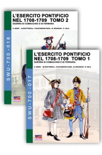 L'esercito pontificio nel 1708-1709 – Box 2 tomi e eBook in regalo!