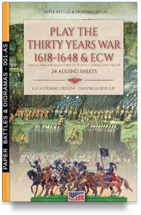 Play the Thirty years war 1618-1648 & ECW – 24 adding sheets (PDF download)