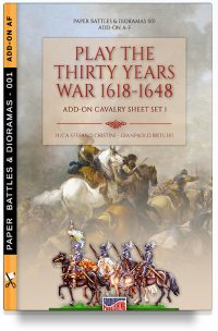 Play the Thirty years war 1618-1648: ADD-ON cavalry sheet 1