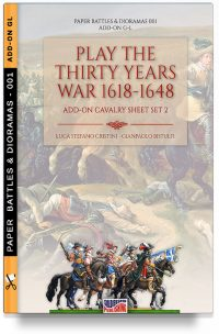 Play the Thirty years war 1618-1648: ADD-ON cavalry sheet 2